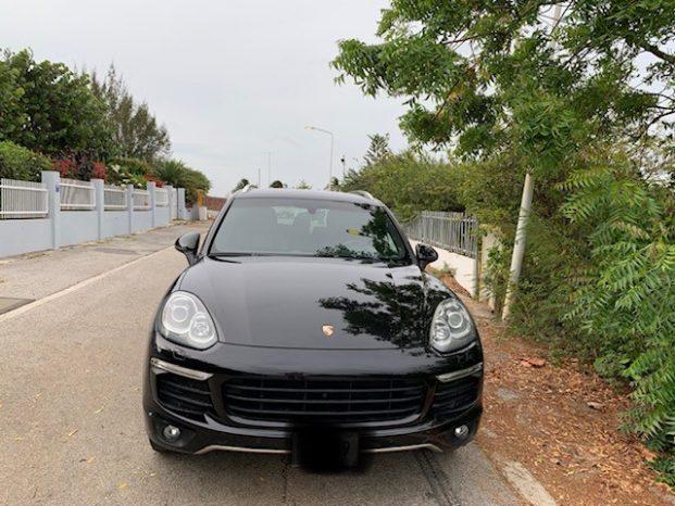 Porsche Cayenne 2016 full